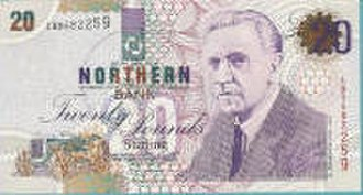 Banknotes of Northern Ireland - A pre-robbery Northern Bank £20 note
