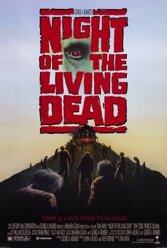 Night of the Living Dead (1990 film) - Theatrical release poster