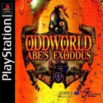 Oddworld: Abe's Exoddus - Image: Oddworld Abe's Exoddus Coverart