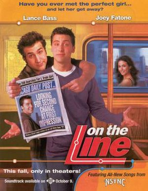 On the Line (2001 film) - Theatrical release poster