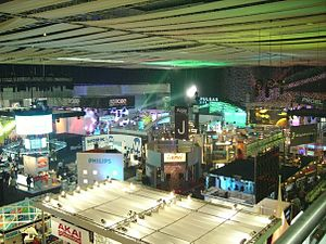 PLASA Show - Photograph of Earls Court 1 at the 2006 PLASA trade show