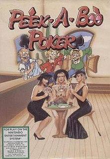 <i>Peek-A-Boo Poker</i> video game