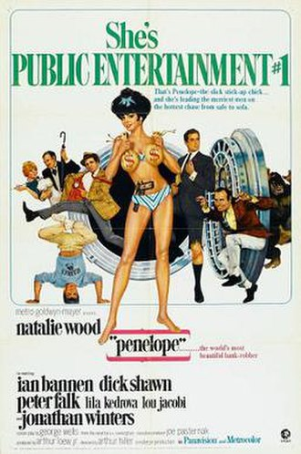 Penelope (1966 film) - Image: Penelope (1966 film) poster