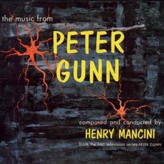 Peter Gunn (song) - Original album cover