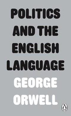 Politics of the english language essay
