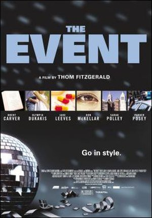 The Event (2003 film) - Image: Poster of The Event (film)
