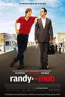 Afiŝo de la filmo Randy kaj La Mob.jpg