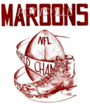 Pottsville Maroons Boston Bulldogs logo