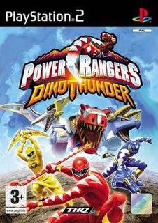<i>Power Rangers Dino Thunder</i> (video game) 2004 video game
