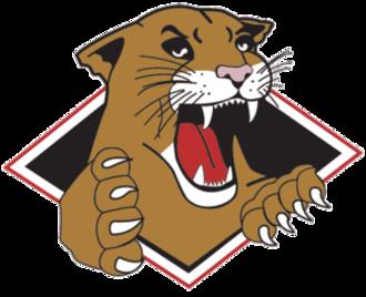 Prince George Cougars - 1996–2008 Logo.