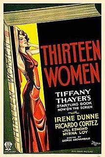 <i>Thirteen Women</i> 1932 film by George Archainbaud