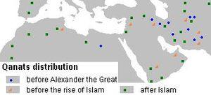 Qanats Muslim world