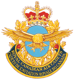 Royal Canadian Air Cadets - Badge of the Royal Canadian Air Cadets