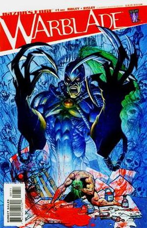 Warblade (comics) - Image: RE Warblade 01 cover