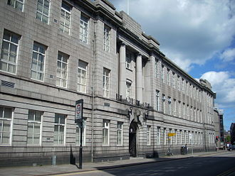 Robert Gordon University - Former building at St. Andrew Street, due to be converted to luxury hotel