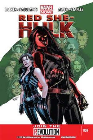 Betty Ross - Image: Red She Hulk 58