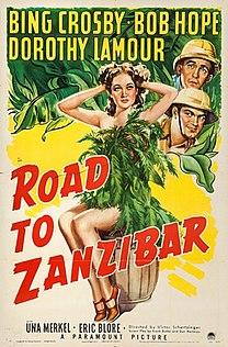 <i>Road to Zanzibar</i> 1941 film by Victor Schertzinger
