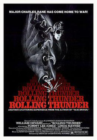 Rolling Thunder (film) - Theatrical release poster