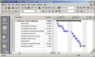 Microsoft Project - Microsoft Project 2000