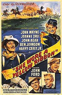 <i>She Wore a Yellow Ribbon</i> 1950 American film by John Ford
