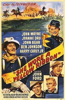 She Wore a Yellow Ribbon movie