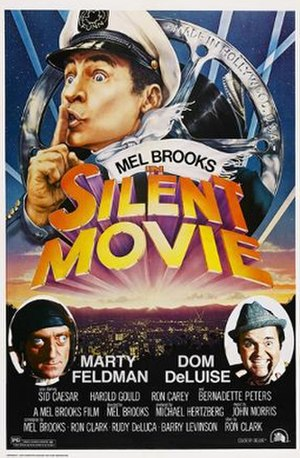 Silent Movie - Theatrical release poster by John Alvin