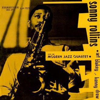 Sonny Rollins with the Modern Jazz Quartet - Image: Sonny Rollins with the Modern Jazz Quartet