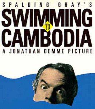 Swimming to Cambodia - Video cover