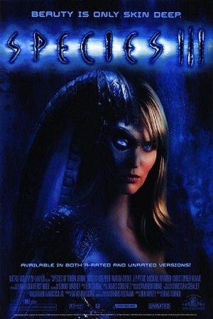 Species III - Home video poster