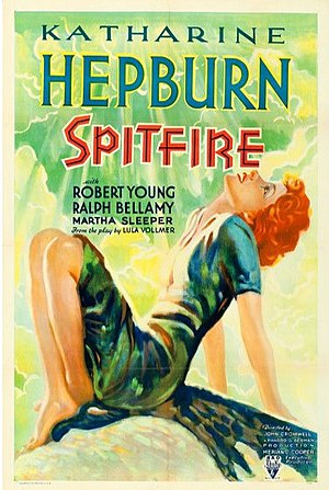 Spitfire (1934 film) - movie poster