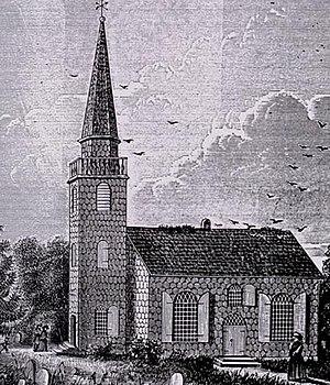 Hempstead (village), New York - St. George's Church circa 1734