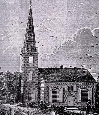 Hempstead (village), New York - St. George's Church circa 1734