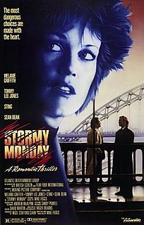 <i>Stormy Monday</i> (film) 1988 crime thriller film by Mike Figgis