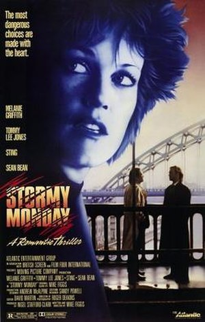 Stormy Monday (film) - Theatrical release poster