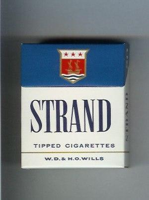 Strand (cigarette) - Image: Strand Tipped Cigarettes (Full Flavour)