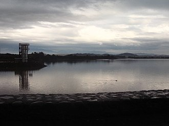 Sukhna Lake - View of Sukhna Lake from the jogging track