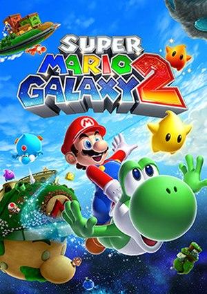 Super Mario Galaxy 2 - Box art