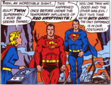 Superman RedSuperman Blue  Wikipedia