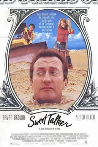 Sweet Talker (film) - Image: Sweet talker movie poster 1991