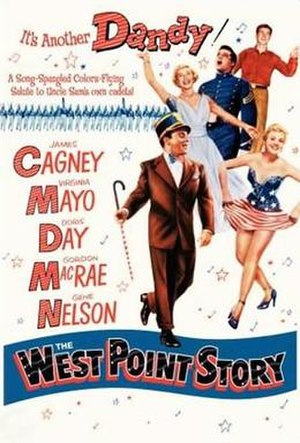 The West Point Story (film) - Theatrical release poster