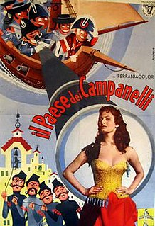 <i>The Country of the Campanelli</i> 1954 Italian-French comedy film by Jean Boyer