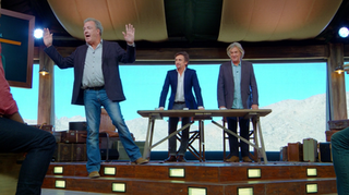 The Holy Trinity (<i>The Grand Tour</i>) 1st episode of the first season of The Grand Tour