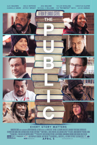 The Public (film) - Theatrical release poster