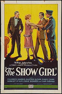 <i>The Show Girl</i> 1927 film