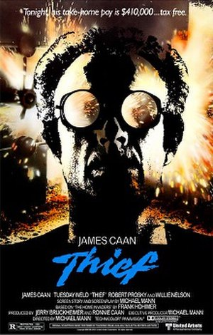 Thief (film) - Theatrical release poster