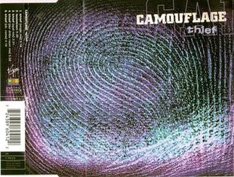 Thief (Camouflage song) - Image: Thief camouflage single