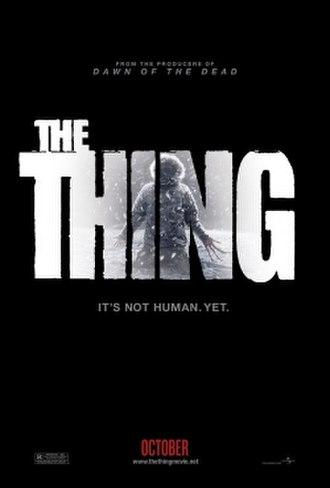 The Thing (2011 film) - Theatrical release poster