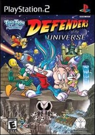 Tiny Toon Adventures: Defenders of the Universe - Planned PlayStation 2 cover