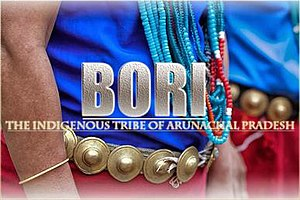 Bori tribe - Traditional attire of Bori(ADI) People.