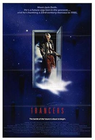 Trancers - Theatrical release poster